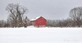 Red Barn Winterscape P1050684-6