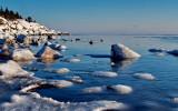 The white cliffs of Åstön...