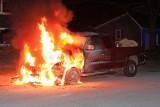Dudley MA - Vehicle fire; 12 Wayne Ave. - January 13, 2019