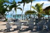 Beach chairs at Robbie's, Lower Matecumbe Key, Florida Keys, Florida 068