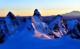 Chimney Rock, Lemah Mountain, Mount Adams, Mount Rainier, Cascade Mountains, Washington 341