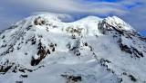 Liberty Cap, Sunset Ridge, Sunset Amphitheater, South Mowich Glacier, Tahoma Glacier, Point Success, Mount Rainier NP 195
