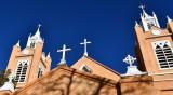 San Felipe de Neri Church Crosses, Old Town Plaza, Old Town Albuquerque, New Mexico 186