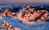 Overcoat Peak, Iceberg Lake, Summit Chief Mtn, Chimney Rock, Lemah Mountain, Mt Stuart,  Cascade Mountains, Washington 627