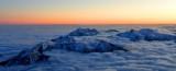 Sunset over Olympic Mountains, Washington 996