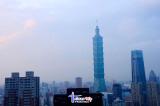 Taipei 101 from Elephant Mountain (Xiangshan)