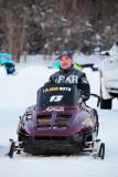 Tommy et ses motoneiges de course