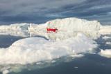 Ilulissat, town in North Greenland