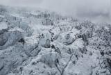 Drone capture ,top of glacier