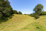 IMG_8872.jpg The remains of the earthworks of Lydford Norman Castle - © A Santillo 2020