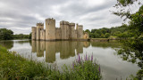 IMG_8455.CR3 View of the SW Tower, Postern Tower, the SE Tower, the E Tower and NE Tower -  Bodiam Castle - © A Santillo 2019