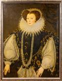 IMG_8200.CR3 Elizabeth Sydenham, Lady Drake (c.1562-1598) by George Gower - Buckland Abbey - © A Santillo 2019
