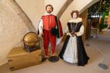 IMG_8212.CR3 Diarama of Sir Francis Drake and Elizabeth Sydenham, Lady Drake - Buckland Abbey - © A Santillo 2019