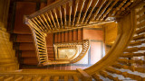 IMG_8213.CR3 Georgian staircase - Buckland Abbey - © A Santillo 2019