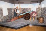 IMG_6143.jpg Diorama of Firing the Falcon - 16th c. cannon - Cornet Castle, Saint Peter Port - © A Santillo 2014