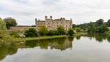 IMG_8408.CR3 Leeds Castle across the Moat from the East side - © A Santillo 2019