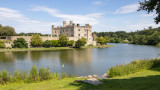 IMG_8426.CR3 Leeds Castle across the Moat from the East side - Leeds Castle - © A Santillo 2019