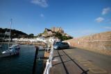 IMG_7154.CR2 Mont Orgueil Castle from Gorey Harbour  - © A Santillo 2011