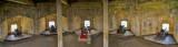 IMG_4118-4121.jpg St Mawes Castle forward Bastion lower gun platform - © A Santillo 2012