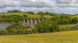 IMG_8785-Pano-Edit Antony Passage, Foder Viaduct and Trematon Castle from Point Field - © A Santillo 2020