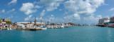 IMG_7838-Pano Royal Naval Dockyard with the Clocktower Mall  - © A Santillo 2018