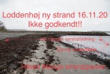 Billeder fra Loddenhøj Strand -Politisk behandling -Vedtægter Jollelauget