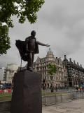 20190909_170136 David Lloyd George, With Cape Flying