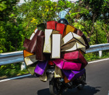 Bag Delivery by Motorbike