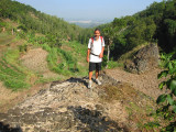 Iskandar on walk