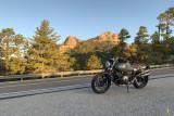 R nineT on Mt. Lemmon