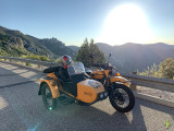 Ural ride up to Mt. Lemmon with my oldest daughter