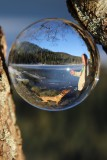 Dans ma Lensball de cristal, je vois mon cher Christian et notre adorable Nanouk