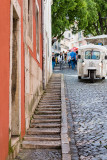 The Colorful and Narrow Streets of Alfama