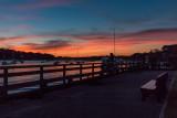 Huntington Town Dock Sunset