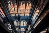 Inside the Santa Justa Lift