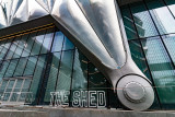The Vessel Reflecting in The Shed