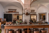 In the Kitchen of Pena Palace