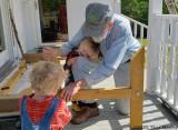 Helping Grandpa