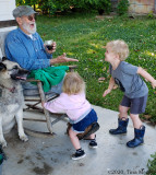 Busy Grandpa!