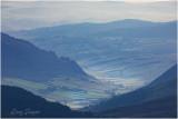 View from Manod Mawr towards Penmachno