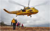 Mountain rescue training 29/11/2009
