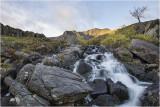 Cwm Idwal waterfall