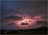 Lightning over the Vale of Ffestiniog