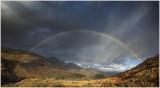 Rainbow over Beddgelert