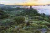 Sunrise at Dolwyddelan castle