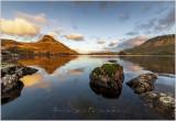 Low on Cregennen lake