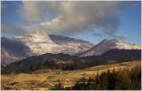 Snowdon from Hafod Boeth