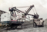 Arch of Illinois Bucyrus Erie 155B (Captain Mine)