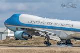USAF United States Air Force Boeing 747-2G4B (VC-25A) (82-9000)