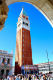 A beautiful sunny day in Piazza San Marco in Venice